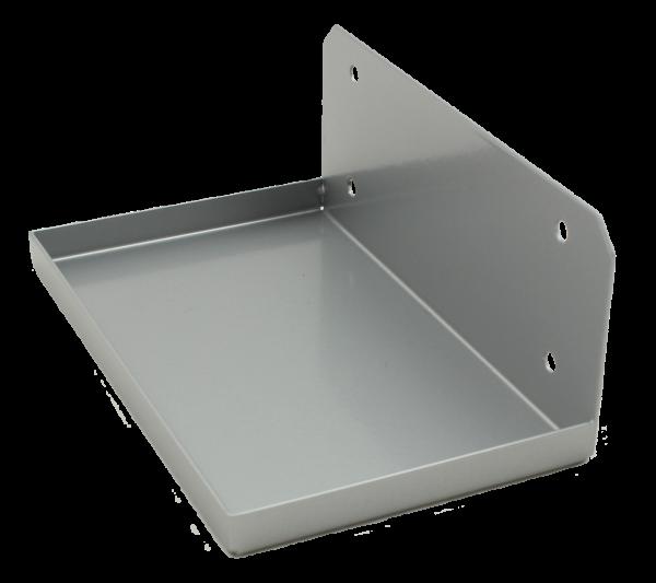 Wandhalterung für Gerät VICENZA,RAL 9006 silber-grau