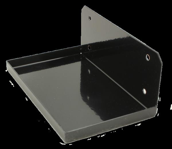 Wandhalterung für Gerät VICENZA,RAL 9005 schwarz glänzend